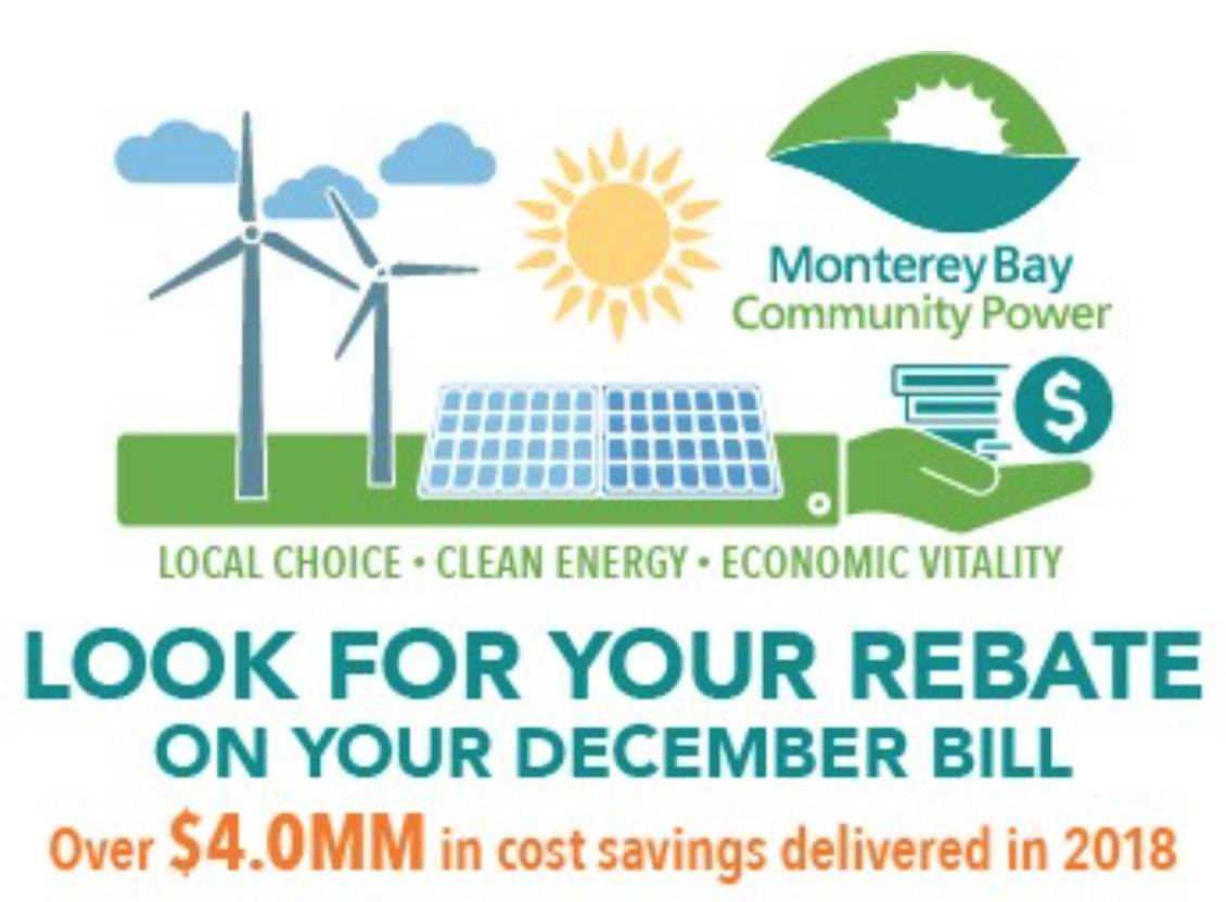 Monterey Bay Community Power Delivers Over $4 Million in Cost Savings Through 2018 Rebates