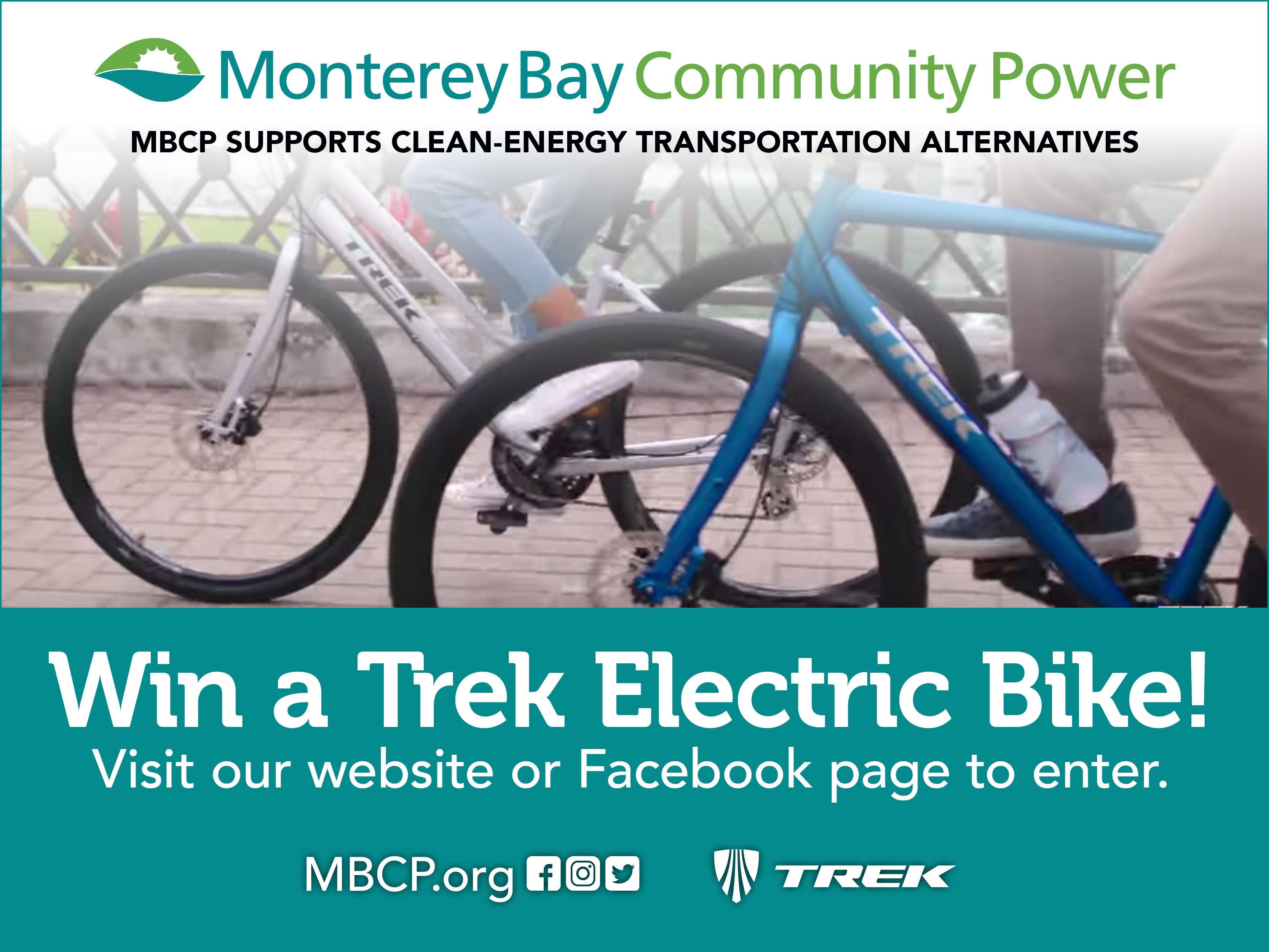 Win a TREK Electric Bike from MBCP